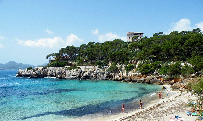 Cala Gat - Bucht und Strand in Cala Ratjada auf Mallorca